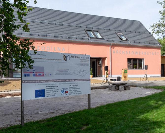 Eröffnung ArchaeoWerkstatt
